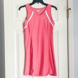EUC Nike pink tennis dress